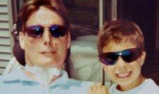 رسالة مؤثرة من إبن كريستوفر ريف الى والده وهذا ما قاله