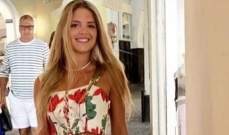 """زوجة إيلي صعب جونيور تتألق في شهر العسل وتختار """"Dolce & Gabbana"""".. بالصور"""