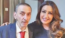 لطيفة التونسية تجتمع بزياد الرحباني وتعايده بعيد ميلاده- بالفيديو