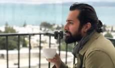 """بالصور- أحمد حاتم في كواليس """"لو كنت يوم أنساك"""" من """"حلوة الدنيا سكر"""""""