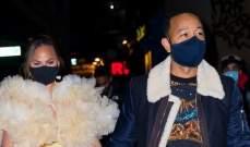 جون لجند وكريسي تايغن يقضيان ليلة رومانسية بإمتياز..بالصور