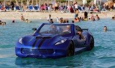 أول مركبة مصريّة تسير على الماء- بالصور