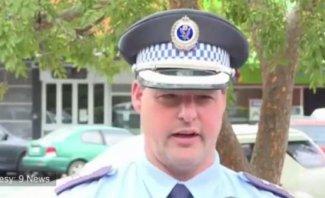 شرطي ترك لقاء تلفزيونيا لتحرير مخالفة