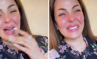 زين كرزون تنهار بكاءً بعد اتهامها بالإساءة للقضية الفلسطينية وهذا ما قالته - بالفيديو