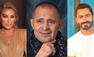 بالفيديو- عودة تامر حسني ومايا دياب الى المنافسة وجورج وسوف بالصدارة