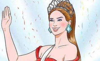 خاص وبالفيديو- ملكة جمال عربية تستعرض مؤخرتها الضخمة والمخرج يفضحها