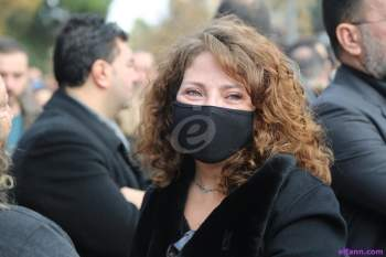 فنانو سوريا يشيعون حاتم مأتم