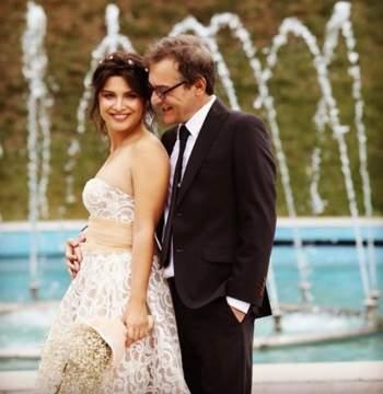 زواج بطلة مسلسل زهرة الثالوث بالصورة