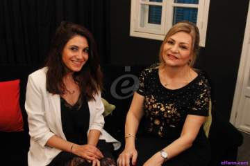 خاص بالفيديو- وفاء حلاوي: تقلا شمعون شجعتني كثيراً وإستفدت كثيراً من منير معاصري