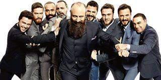 أبطال حريم السلطان في جلسة تصوير مميّزة