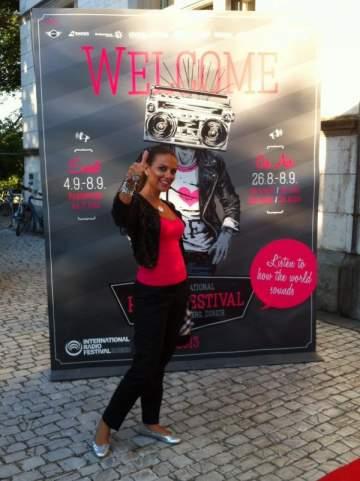 رانيا يونس تشارك للمرة الثانية في مهرجان الإذاعة العالمي بسويسرا