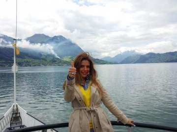رانيا يونس تكتشف سويسرا بجولة على أبرز معالمها..بالصور