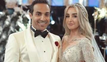 هكذا وصفت هنا الزاهد زوجها أحمد فهمي.. بالصورة