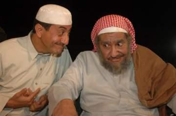ممثل سعودي يفتح النار على ناصر القصبي وعبد الله السدحان