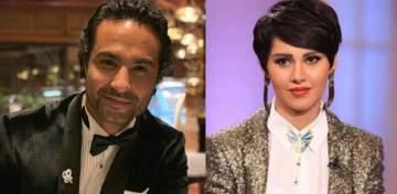 كريم فهمي إلى جانب ياسمين رئيس في فيلمها الجديد