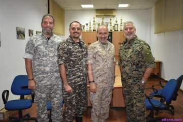 خاص بالصور-الفرسان الأربعة ونزار فرنسيس وأبو سليم يحتفلون بعيد الجيش