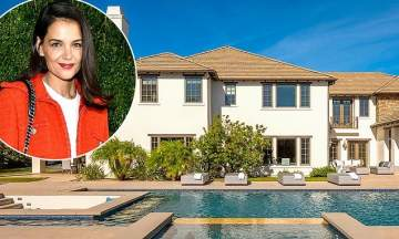 بالصور-بعد انفصالها عن جايمي فوكس..كايتي هولمز تعرض منزلها المبهر للبيع