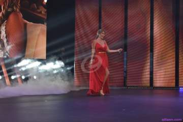 خاص بالصور- كريستينا صوايا وفادي حرب يغنون في حفل انتخاب ملك وملكة جمال الصيف