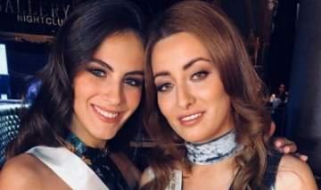 ملكة جمال عربية تجتمع مع ملكة جمال
