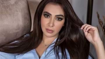 ميريهان حسين تحتفل بخطوبة شقيقتها