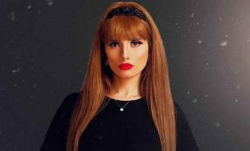 شقيقة زينة المحجبة تخطف الأنظار منها.. بالصورة