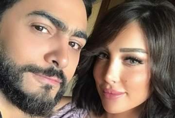 هكذا علّقت بسمة بوسيل على فيديو كليب زوجها تامر حسني وأسيل عمران- بالصورة