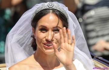 ميغان ماركل تكشف للمرة الاولى عن سر يخص فستان زفافها..هذا ما كان يحتويه من الداخل!