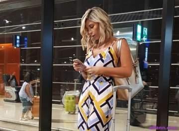 خاص بالصور- هذا ما حصل مع ناي سليمان وإياد في مطار الملكة علياء في الأردن