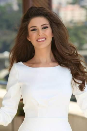 سالي جريج تكشف عن سبب اشتراكها  في مسابقة ملكة جمال لبنان 2014