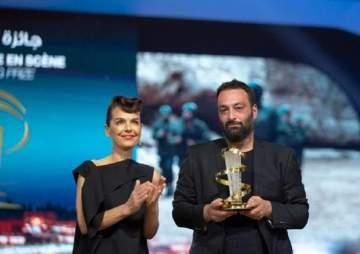 """""""طلامس"""" ينال جائزة أفضل إخراج في المهرجان الدولي للفيلم بمراكش"""