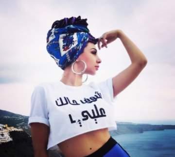 ميريام فارس وعبدالله بالخير في لقاء عفوي..الأخير يشيد بجمالها وهكذا ردّت-بالفيديو