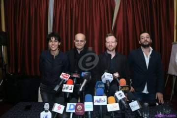خاص بالصور- سعاد ماسي تعلن عن تفاصيل حفلها في مصر بمؤتمر صحفي