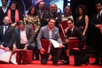 مروان حامد يحصد جائزة أفضل مخرج في المهرجان القومي للسينما المصرية