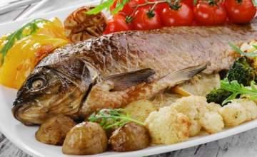 السمك المشوي على الطريقة العراقية