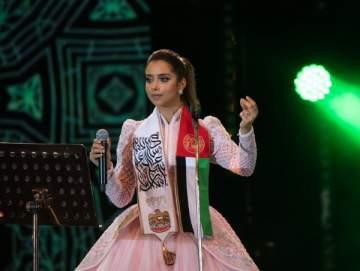 بلقيس تشعل اجواء العيد الوطني الإماراتي بحفلين في العين ودبي..بالصور