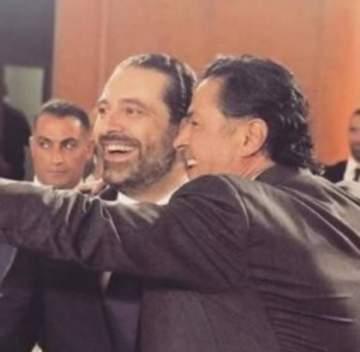 راغب علامة يفاجئ الحريري في عيده..ويغنّي له- بالفيديو