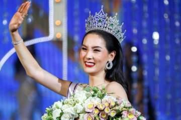 تايلاندية ملكة جمال العالم عن