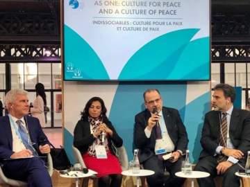 """""""MBC الأمل"""" تتحدث عن دور الإعلام في تفادي الحروب والصراعات ضمن """"منتدى باريس للسلام"""""""