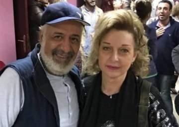 بالصورة- بعد 20 عاماً.. أيمن زيدان ونادين خوري يجتمعان من جديد في
