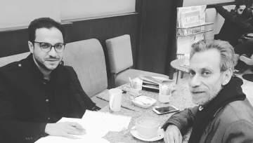 "خاص بالصورة- بيتر ميمي وباهر دويدار يجتمعان.. فهل إتفقا على ""كلبش 4"""