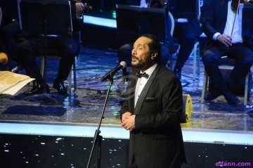 خاص بالصور- علي الحجار يطرب جمهور الموسيقى العربية ويترحم على هيثم أحمد زكي
