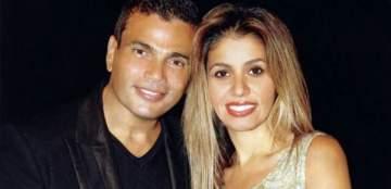بعد إنتشار خبر زواجه من دينا الشربيني ...زوجة عمرو دياب تخلع خاتم زواجها- بالفيديو