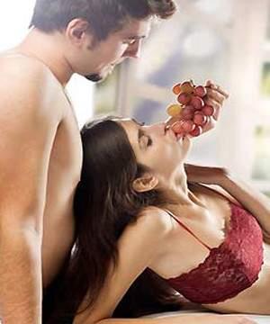الطعام والجنس معاً..إثارة من نوع آخر
