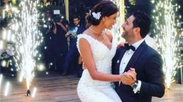 بالفيديو- وسام بريدي وريم السعيدي يرزقان بمولودهما الاول وهذا جنسه واسمه