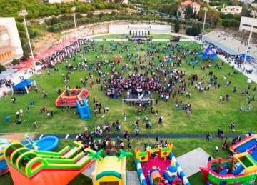 نشاطات متنوعة في مهرجان الربيع السنوي في جامعة البلمند