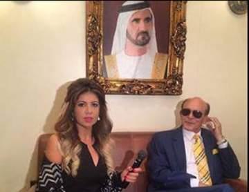 تكريم محمد صبحي كسفير للنوايا الحسنة في دبي