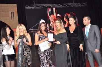 بالصور: حسنا فرح ملكة جمال السمروات في بيروت