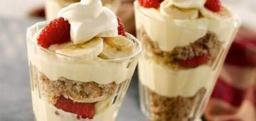 3 وصفات لحلويات باردة لذيذة وسهلة التحضير