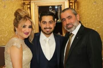 بسام نعمة يحتفل بخطوبة نجله..بالصور