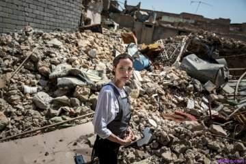 أنجلينا جولي تزور مدينة الموصل العراقية..بالصور
